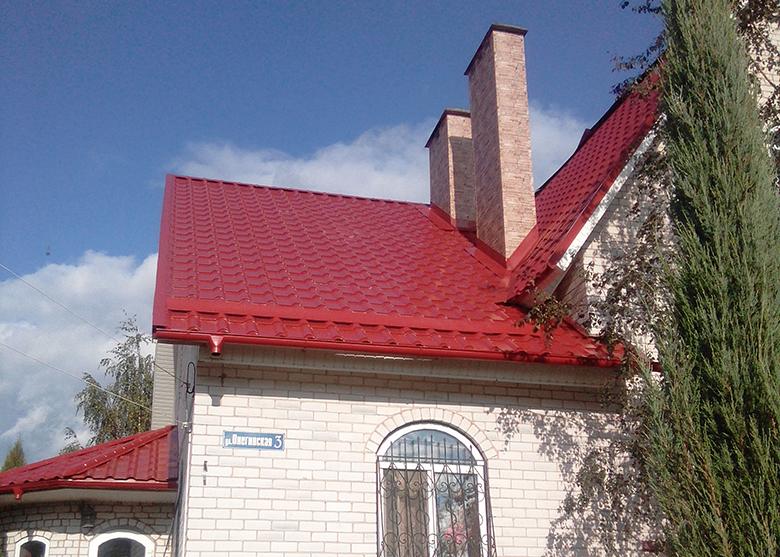Металлическая черепица Grand Line Камея г. Новополоцк