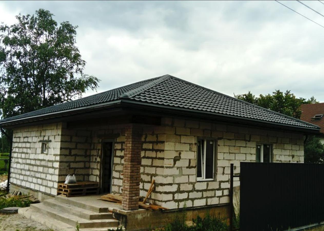 Черепица Budmat, объект в г.Полоцк
