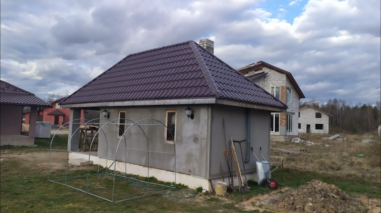 Проект Черепица Металл Профиль, объект в г.Полоцк | Слайд 2